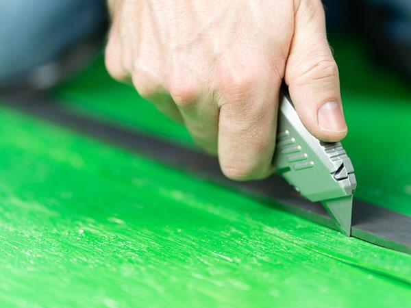 FlexiFlor Sheet Rubber Flooring Install
