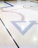 FlexiFlor Rubber Flooring in Gymnasium